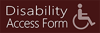 Disability Access Form
