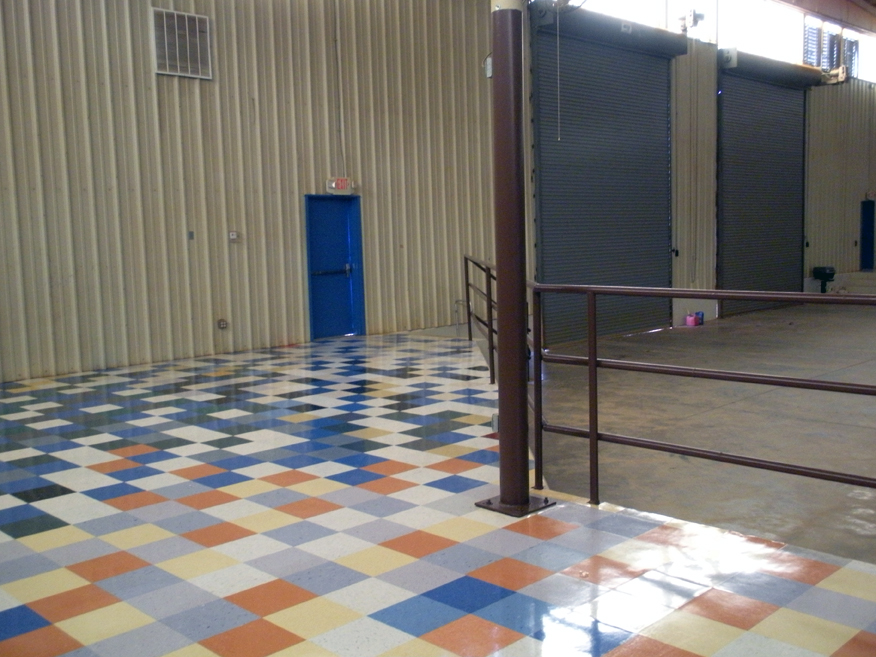 Image from inside the Shelby County Exhibition Center
